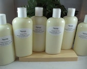 8 oz Organic Hand and Body Lotion- Super Moisurizing with Jojoba Oil and Shea Butter - Intense Dry Skin Therapy - Paraben Free