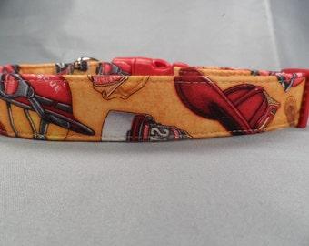 Fireman Dog Collar