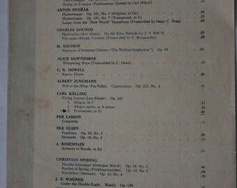 1933 Sheet Music - Selection of Piano Favorites