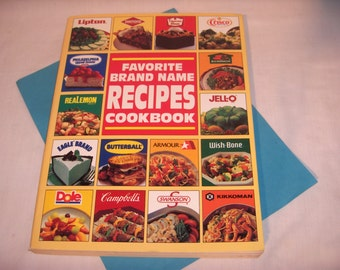 Favorite BRAND NAME RECIPES Cookbook 1991 Cook Book