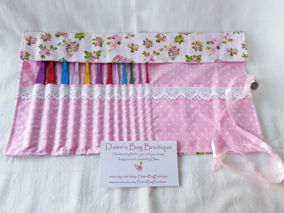 Crochet Hook Organizer With 12 Hooks Crochet Hook