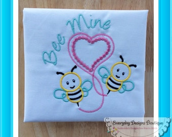 Bees Quick Stitch Machine Embroidery