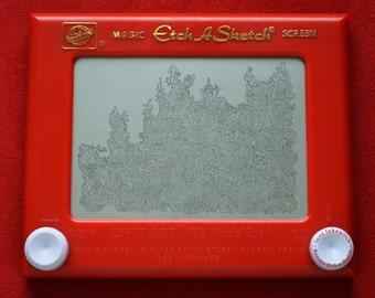 Doodle Etch A Sketch