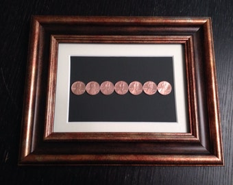 Copper Coin 7 Year Anniversary Gift