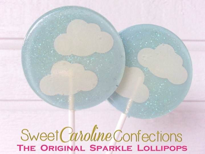 cloud baby shower lollipops baby shower favors clouds light