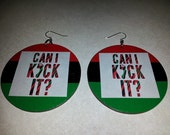 Back to Back A Tribe Called Quest III Earrings (2 or 2.5 inches)