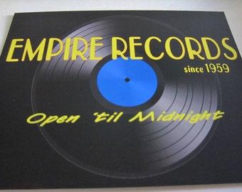 Empire Records Postcard