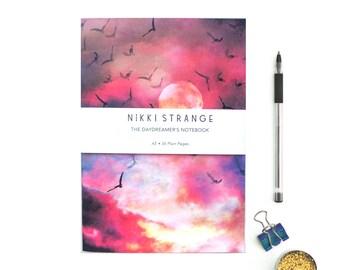 Celestial Birds A5 Notebook