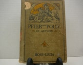 Peter and Polly in Autumn, 1918, Rose Lucia, vintage kids book, antique kids book