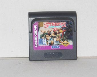 SEGA Game Gear Streets Of Rage 2  Video Game Cartridge 1993
