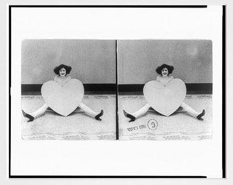 Valentines Day Art - Valentines Day Poster - Valentine - Vintage Valentine - Valentine Wall Art - V Day - Love Art - Retro Valentine
