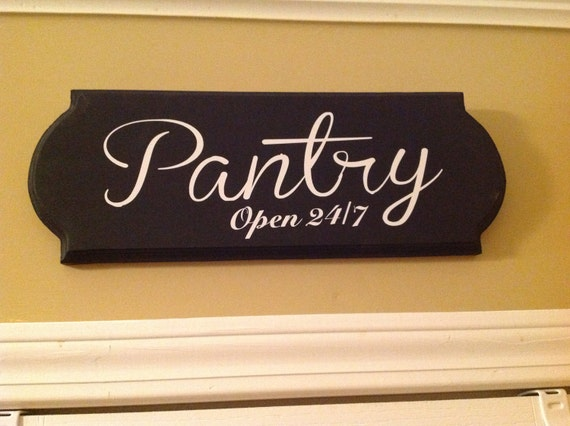 Large Pantry Sign Wooden Sign Kitchen Decor Wall Decor Wooden