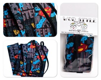 WOD Style Wrist Wraps Superman Chains