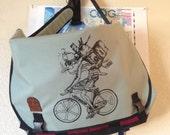 Vegan XL Messenger Bag - New Bag Construction Method
