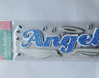 New - For Scrapbooking Jolee's Boutique Dimensional Embellishment Stickers Angel