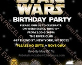 Star Wars party theme printables