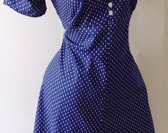 1940s style dress made to measure