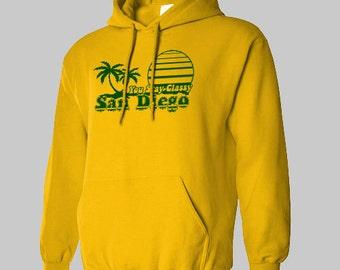 STAY CLASSY SAN Diego you anchorman Hoodie