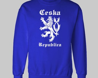 CZECH Republic Czechoslovakia CESKA sweatshirt sweat shirt