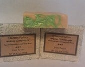 Irish Tweed scented Beer soap cold process men soap handmade