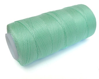 MINT Nylon Thread - Non-waxed Jewelry Cord - Fine Crochet Thread - Spool of 300 yards