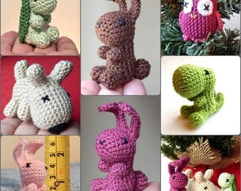 Mini Crocheted Animal