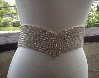 Free Gift ,Silver Wedding Belt Sash,Bridal Sash,Best seller sash ,Rhinestone Crystal Sash,Beaded Sash,Silver Sash