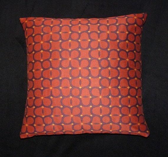 Maia Modern Pillows : Maharam Ditto Spice mid century modern style