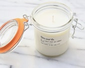 Kitchen Collection Sweet Mint Soy Candle