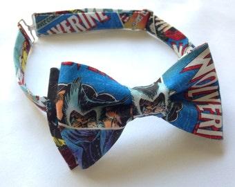X-Men, Wolverine, & Magneto Superhero Marvel Comics Bow Tie!