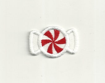Tiny, Peppermint Swirl Candy Patch! Custom Made!