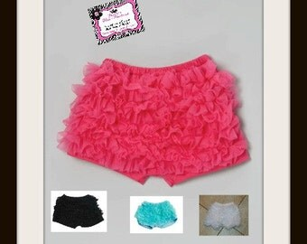 Chiffon Ruffled Booty Dance Shorts for Baby to Big Girls!!!