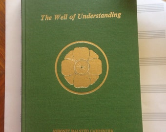 Summer Book SALE rare spiritual book signed by the author The Well of Understanding