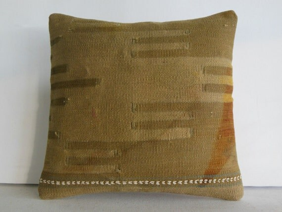 Large Decorative Pillows Floor : floor turkish pillow cover large pillow case ethnic kilim