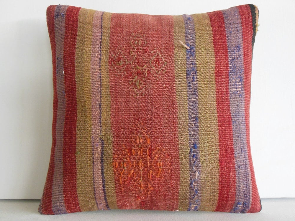 boho pillow boho decor floor cushion rustic by DECOLICKILIMPILLOWS