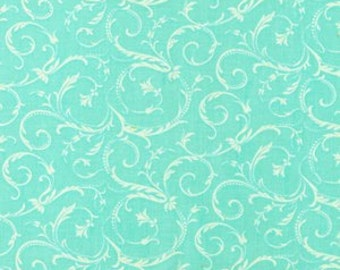 A beautiful aqua color wth swirls