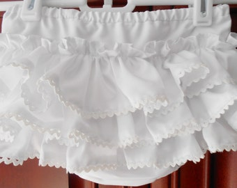 Girls Ruffled Diaper Cover