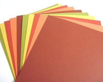 Cardstock Paper - 65 lb thickness - 8.5 x 11 inches - Pack of 10 Sheets