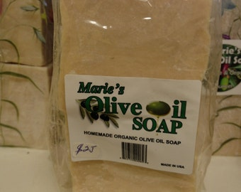 Handmade Olive Oil Soap 16 ounces