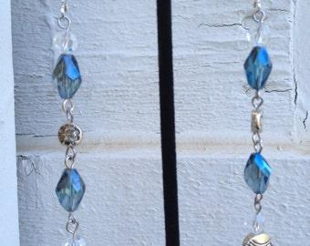 Dramatic Crystal Drop Earrings