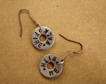 Twin Peaks - Washer Earrings