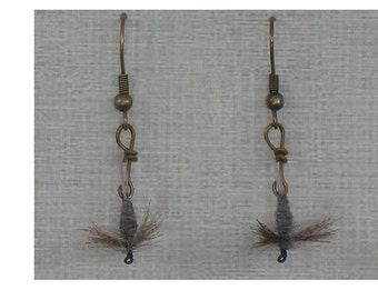 Hendrickson Fly Fishing Dangle Earrings