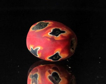 handmade colorful indonesian glass bead (02)
