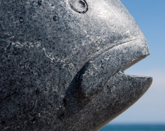 fish sculpture, beach photography, hampton beach, beach photography, fish photography, abstract, beach home decor