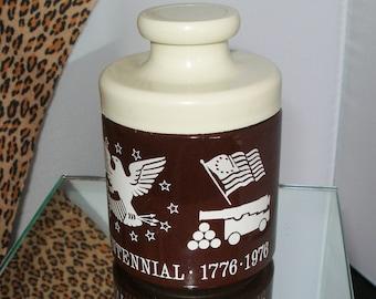 Owens Illinois Glass 1976 BICENTENNIAL JAR