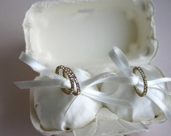 ring pillow @ egg case wedding ring bearer(wedding ring pillow)