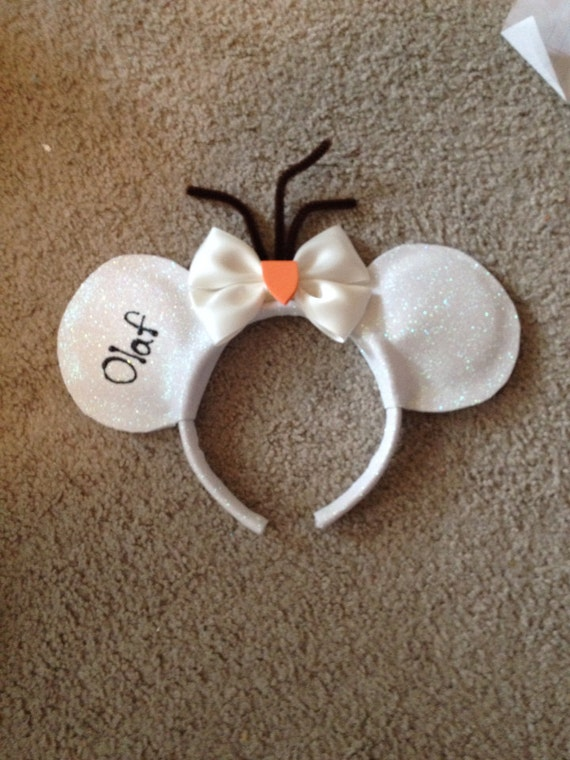 items similar to olaf from disneys frozen inspired mickey