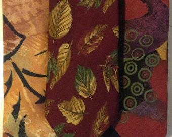 Ties! (bundle of 3) in Organic patterns