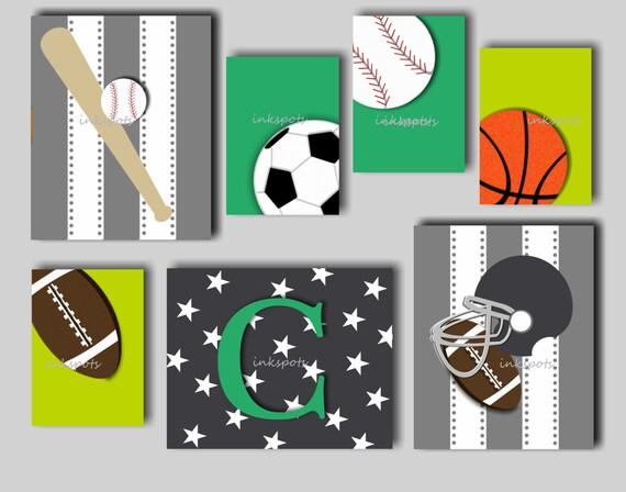 Football Boys Room Boys Room Sports Art For Boys