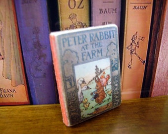 Peter Rabbit Miniature Book 1:12